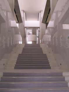 Image 4 of 9 from gallery of AD Classics: Museum of Modern Art, Gunma / Arata Isozaki. Stair Steps, Stair Railing, Stairs, Railings, Arata Isozaki, Gunma, Museum Of Modern Art, Gallery, Classic