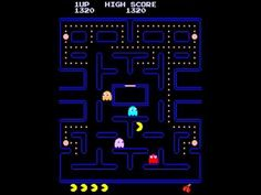 I never knew there was a #spot on #PacMan where you can #hide for a bit. I need to play now!