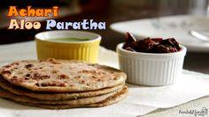 Achari Aloo Paratha | How to make Aloo paratha (Achari)- Indian Breakfas...