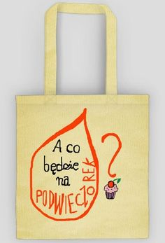 A co będzie na podwieczorek? Reusable Tote Bags