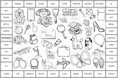 Gra planszowa z głoską [L] - Domologo.pl Sensory Book, English Vocabulary, Speech And Language, Learn English, Toddler Activities, Alphabet, Homeschool, Diagram, Bullet Journal
