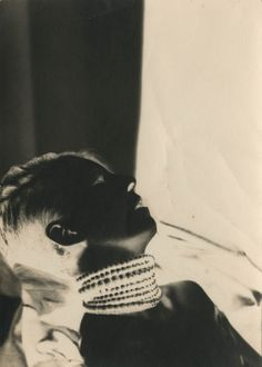 etund:  Nancy Cunard, 1930, by Barbara Ker-Seymer