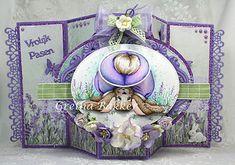 Het kaartenhoekje van Gretha: Honey Buns Set of Art Impressions voor De Hobbyboerderij