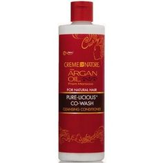 Creme of Nature Argan Oil Pure-Licious Co-Wash 12 oz $6.29   Visit www.BarberSalon.com One stop shopping for Professional Barber Supplies, Salon Supplies, Hair & Wigs, Professional Product. GUARANTEE LOW PRICES!!! #barbersupply #barbersupplies #salonsupply #salonsupplies #beautysupply #beautysupplies #barber #salon #hair #wig #deals #sales #CremeofNature #Argan #Oil #purelicious #cowash