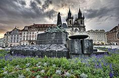 Praha Rainy Morning in Old Town Square, Prague | Flickr - Photo Sharing!
