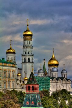 Ivan The Great Bell Tower, The Kremlin, Moscow, Russia