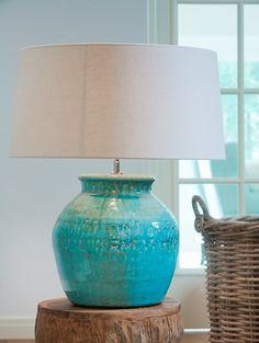 Keraamiset ja kristalliset : KODOVAN Pöytäv 33-K43 Turkoosi Keramiikka Table Lamp, Lighting, Home Decor, Homemade Home Decor, Light Fixtures, Table Lamps, Lights, Interior Design, Lightning