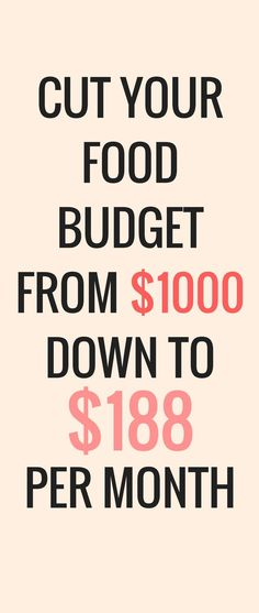 Learn how to slash your food budget, keep the food you love, and stop stressing over money! Money Saving Meals, Save Money On Groceries, Ways To Save Money, Money Tips, Money Savers, Frugal Living Tips, Frugal Tips, Budgeting Finances, Budgeting Tips