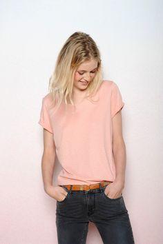 T-shirt m. courtes Figuolu blush - Des Petits Hauts