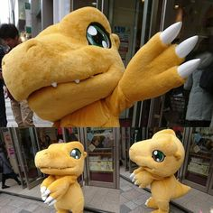 Epic Costumes, Mascot Costumes, Costume Shop, Fursuit, Digimon, Creatures, Cosplay, Japanese, Disney Characters
