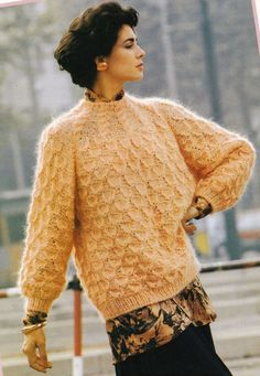 Vintage Knitting Pattern Original Instructions to Make a Ladies Jumper/Sweater