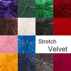 Knit Stretch Velvet Fabric Pleuche Material For Sports Suit Quality Poly Elastic Velvet Cloth wide Fabric Material, Stretches, Velvet, Tapestry, Suits, Knitting, Pattern, Clothes, Diy