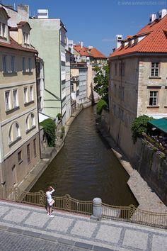 Devil's stream (Čertovka), Kampa Island, Prague