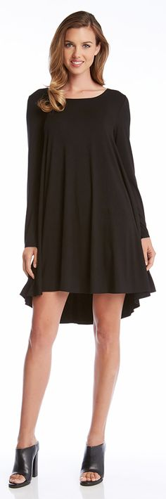 The perfect black dress. Sophisticated, flattering, and timelessly chic.