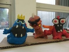 Clay Monsters, Local Artists, Teaching Kids, Have Fun, Dinosaur Stuffed Animal, Workshop, Spirit, Studio, Toys