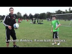 Soccer Drills For Kids: Improve First Touch