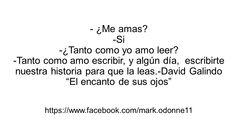 -¿Me amas? -Si...