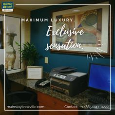 """Among our amenities are a business center with fax and copy service and an Internet computer as well as free breakfast, free wifi and guest laundry facilities. Visit our website:- mainstayknoxville.com OR Contact:- +1 (865) 247-0222 to get amazing services. . #mainstay #hotel #motel #knoxville #suites #Tennessee #mainstay #explore #magicalcity #stay #contactusnow📲 #book #booknow‼️"""" Hotel Motel, Business Centre, Free Breakfast, Free Wifi, Tennessee, Laundry, Internet, Explore"""