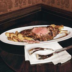 Roasted Leg of Lamb with Yukon Gold Potatoes