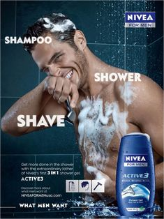 Marketers Pitch Body Wash to Men - The New York Times
