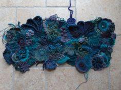 Freeform crochet by Temberlyn