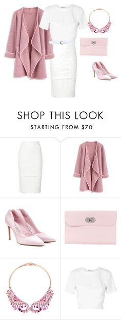 """""""Alittle professional with a touch of Elle woods"""" by glitterandesign ❤ liked on Polyvore featuring Tom Ford, Chicwish, Alexander McQueen, Betsey Johnson, T By Alexander Wang and D&G"""