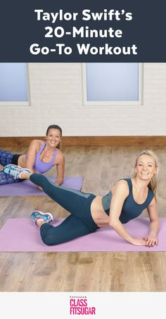 minuten workout bauch beine po Taylor Swift's and Julianne Hough's Go-To Workout Taylor Swift Workout, Fitness Video, Fitness Classes, 20 Minute Workout, Fitness Workout For Women, Workout For Beginners, Best Weight Loss, Losing Weight, Weight Lifting