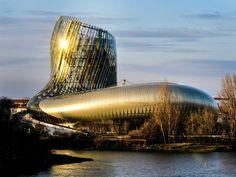 Visit La Cité du Vin, France's Wine Theme Park It's in Bordeaux, of course. Bordeaux Wine, Bordeaux France, France Love, Air France, Move Over, Disneyland, Parc A Theme, Adventure Bucket List, New Museum