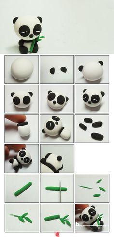 Great Little panda tutorial. Happy modelling ,  #great #happy #little #modelling #panda #tutorial