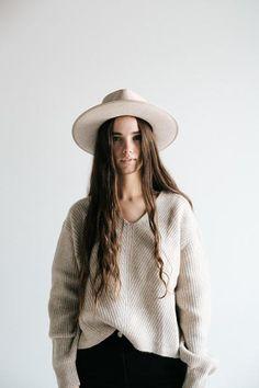 857514ecf6 GIGI PIP Hats for Women- Monroe Oatmeal - Women s Rancher Hat-Felt Hats  Western
