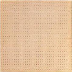 Agnes Martin, Untitled (White Flower), 1961