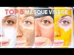 """Top 5 Masque spécial """"Peau mixte/grasse"""" Fait maison & commerce"""