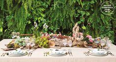 Decoração casamento rústico - Mesa posta (Decoração: Clarissa Rezende | Foto: João Coelho)
