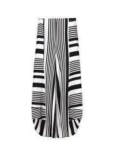 9eed247dfb165 Alembika Alembika Take Me To Rio Pants In B&W Stripe