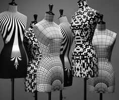 geometric busts These would be perfect in my living room or bedroom. A nice complement to my black metal bust.