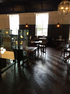 Broadleaf Lichtenberg Vintage Oak Parquet, an stunning wood flooring choice for restaurants, bars and other commercial spaces. Please call 01269 851 910 for more information. Parquet Flooring, Floors, Commercial Interiors, Theatre, Restaurants, Spaces, Bar, Engagement, Table