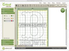 Vinyl Craft Ideas | Wedding Crafting with Cricut} Vinyl Name/Monogram Sign | The Plunge ...