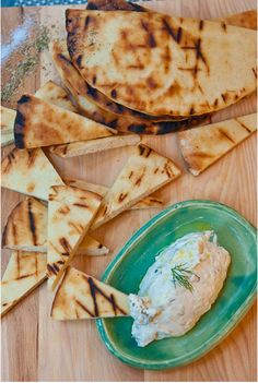 Chef Jim Bostacos of Molyvos restaurant in Manhattan showed us his simple, straightforward technique for fluffy, fresh pita, perfect for eating with your favorite dip or hummus.