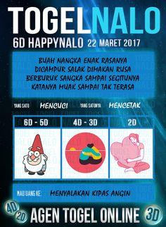 Kode Alam 2D Togel Wap Online Kupon HappyNalo Jakarta 22 Maret 2017