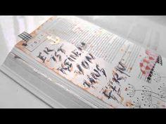 Kalligraphie und Bibleartjournaling - YouTube ©bibleartjournaling.de