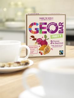 Family & Friends has created new branding and packaging for the Geobars range of snacks, creating a look based on textiles from around the world.
