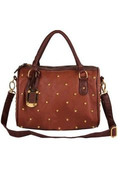 Vintage Style Riveted Faux Leather Handbag - OASAP.com Wholesale Bags, Teen  Fashion, 6707549c6f