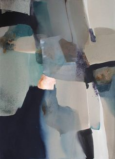 "Saatchi Art Artist Sabrina Garrasi; Painting, ""Lost (Dis)Connections / Large Watercolor"" #art"