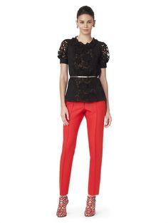 Valentine´s Day outfit :: Oscar de la Renta