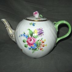 Herend Printemps Tea Pot with Lid | eBay
