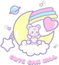 Cute Can Kill bear design <3