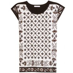 mytheresa.com - Chloé - PRINT-TOP - Luxury Fashion for Women / Designer clothing, shoes, bags
