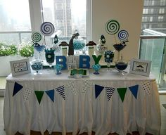 Baby Shower Candy Table