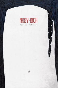 Moby Dick cover by Umberto Scalabrini-cover-books-design-illustrations - juxtapose - Livre Creative Book Covers, Best Book Covers, Beautiful Book Covers, Book Cover Art, Best Book Cover Design, Moby Dick, Buch Design, Cool Books, Book Jacket