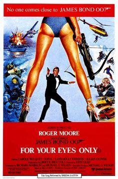 """""""Courage is no match for an unfriendly shoe, Countess...""""– James Bond. For Your Eyes Only, 1981. #kindasexy #kindaridic #mademewantacrossbow"""